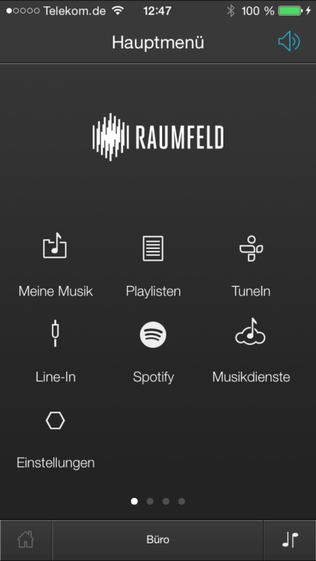 Teufel Raumfeld Controller App 18