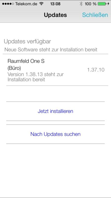 Teufel Raumfeld Controller App 30