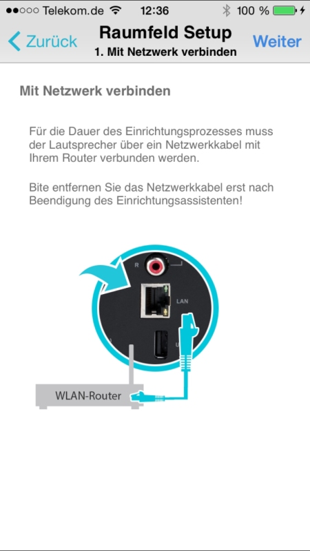 Teufel Raumfeld Controller App 5