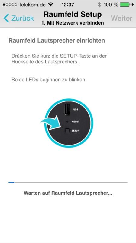 Teufel Raumfeld Controller App 7