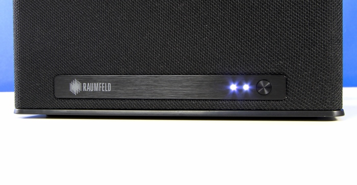Teufel Raumfeld One S Detail Front2