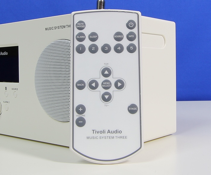 Tivoli Music System Three Plus Fernbedienung
