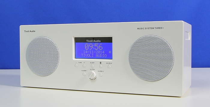 Tivoli Music System Three Plus Front Seitlich2