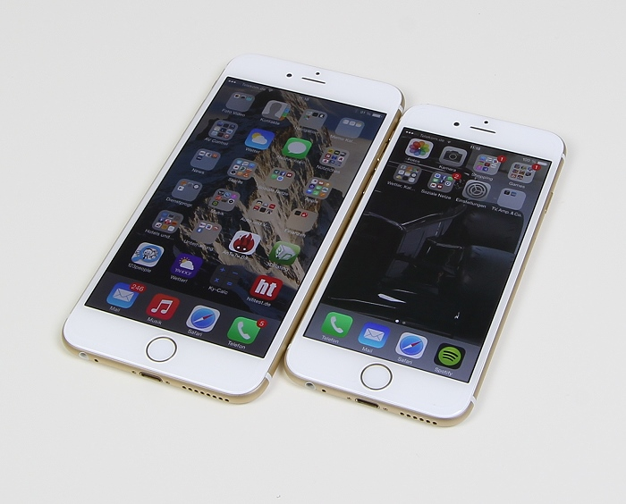 Apple iPhone 6 Plus Vergleich 6 6 Plus