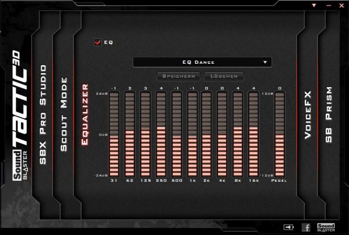 Creative Sound Blaster Systemsteuerung 3