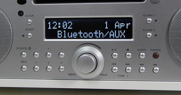 Tivoli Music System Plus Display Bedienelemente