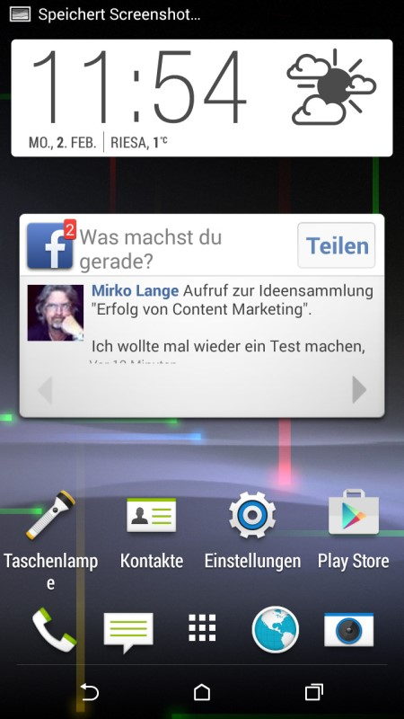 HTC Desire 820 Screenshot
