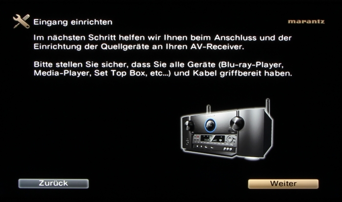 Marantz SR7009 Screenshot 15
