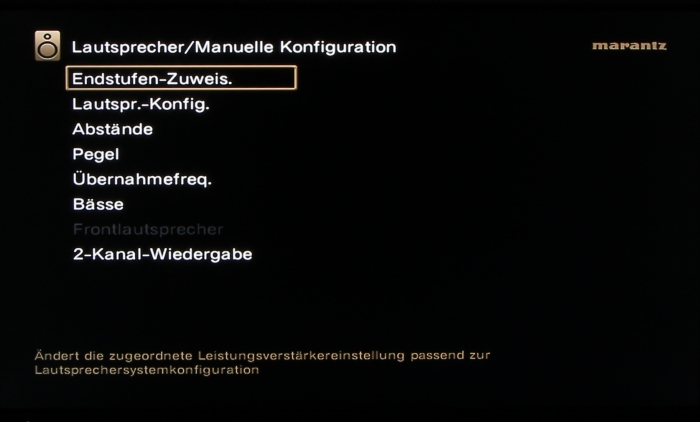 Marantz SR7009 Screenshot 26
