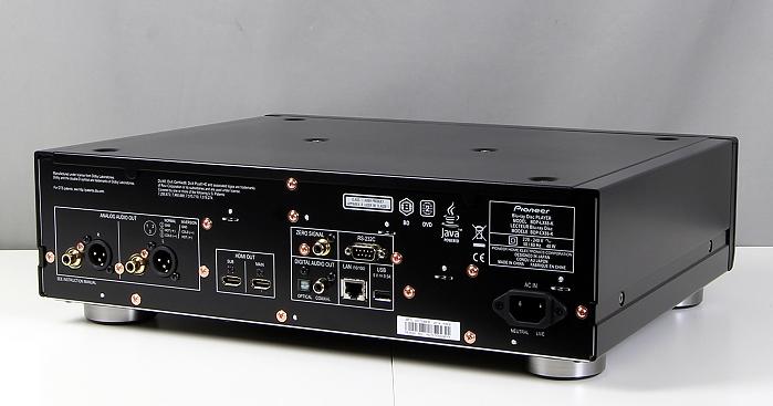 Pioneer BDP-LX88 Rueckseite Seitlich1
