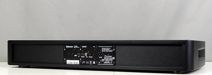 Pioneer SBX-B30 Rueckseite Seitlich1