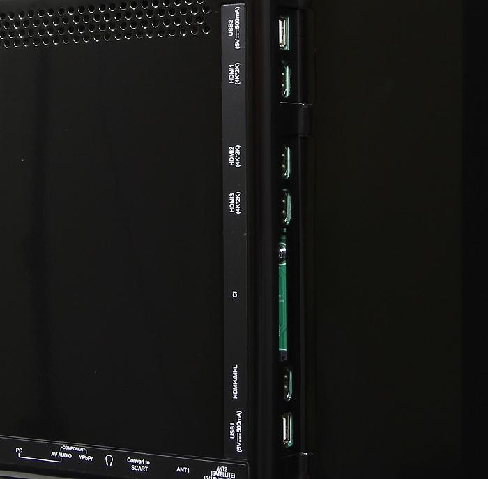 Changhong UHD42C5500 Anschluesse Rueckseite1
