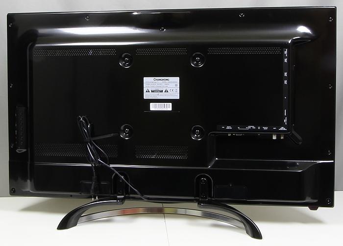 Changhong UHD42C5500 Rueckseite Seitlich