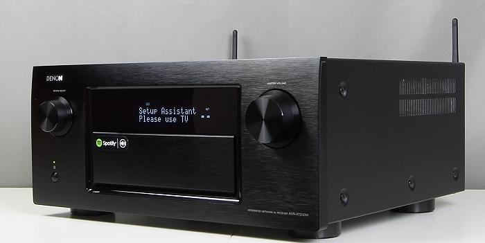 Denon AVR-7200W Front Seitlich3