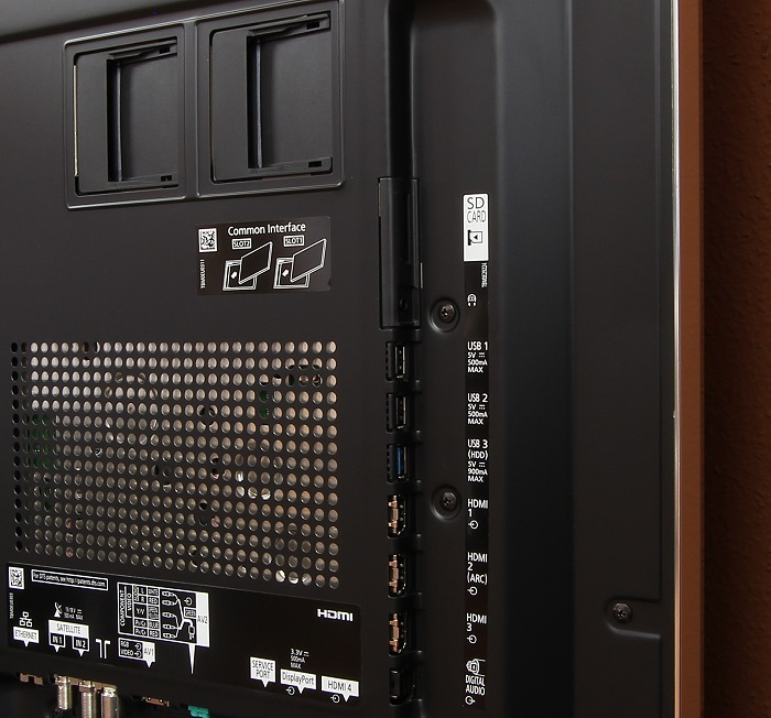 Panasonic TX-65AXW904 Anschluesse Rueckseite1