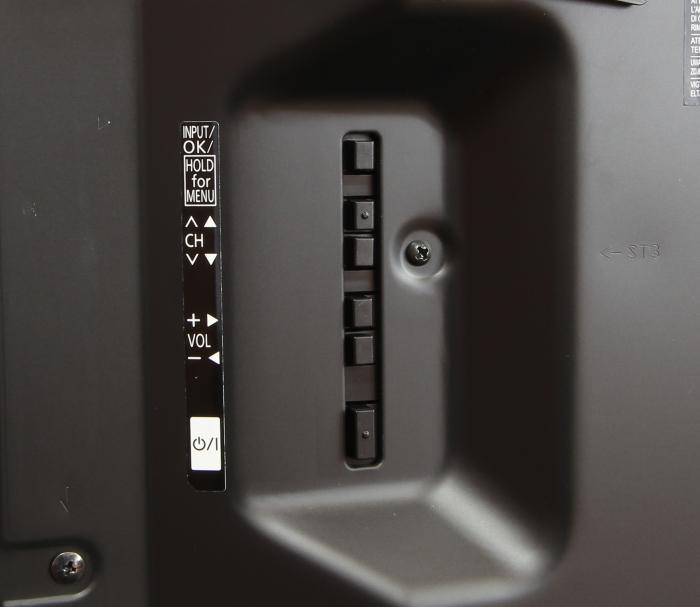Panasonic TX-65AXW904 Bedienelemente Rueckseite