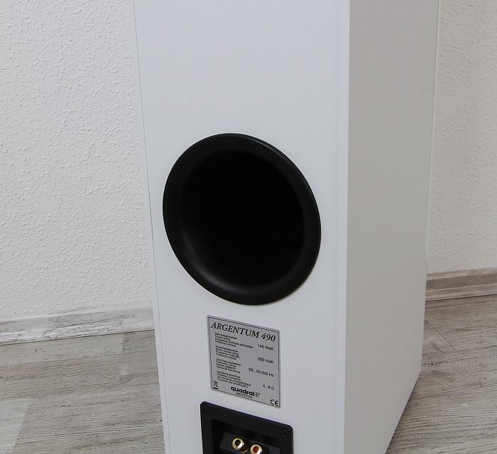 Quadral Argentum 490 Bassreflexrohr