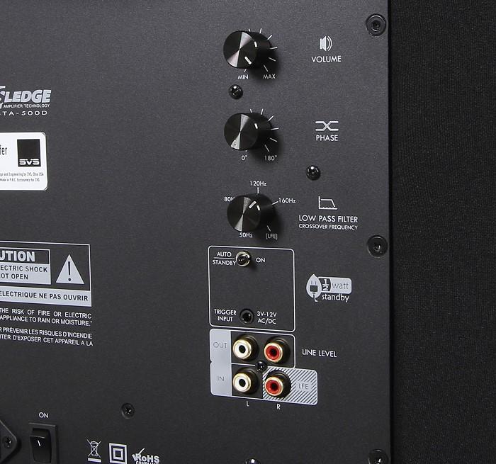 SVS PC-2000 Bedienelemente Anschluesse