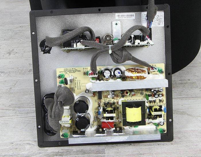 SVS PC-2000 Innenleben Gesamt