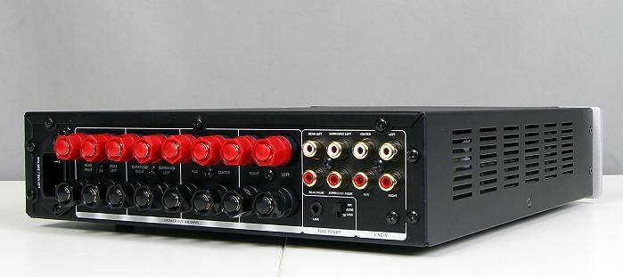 Teufel LT5 Complete Performance Ampstation Rueckseite Seitlich