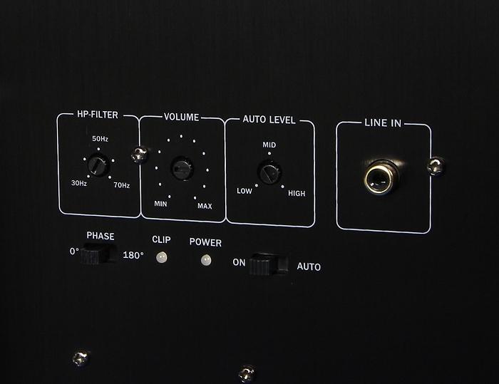 Teufel LT5 Complete Performance US8112 Bedienelemente