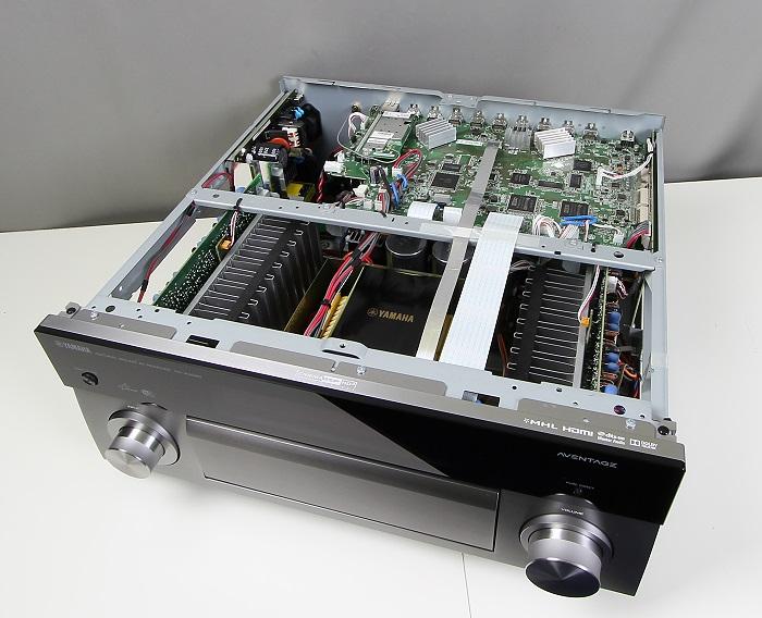 Yamaha RX-A3040 Innenleben Gesamt