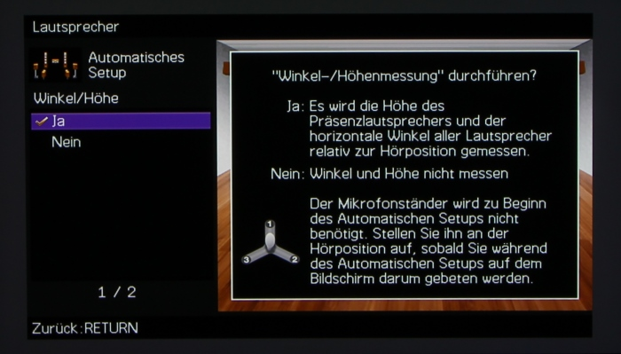 Yamaha RX-A3040 Screenshot 4