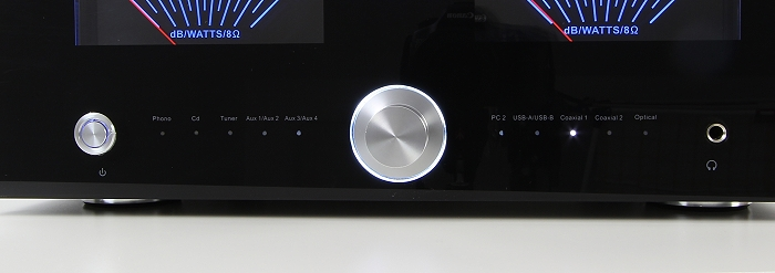 Advance Acoustic X-i120 Bedienelemente Front
