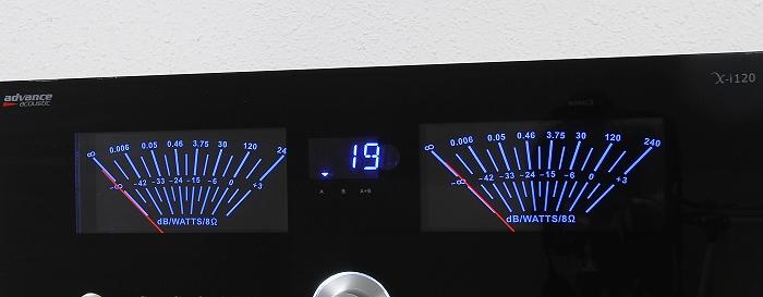 Advance Acoustic X-i120 Display