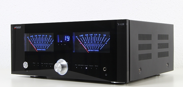 Advance Acoustic X-i120 Front Seitlich1