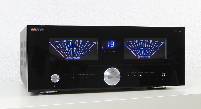 Advance Acoustic X-i120 Front Seitlich3