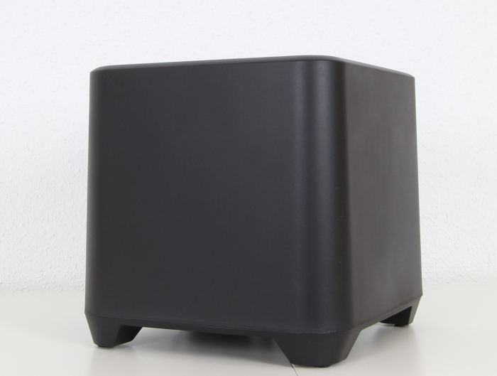 Auna Areal Bar 850 Subwoofer Front Seitlich
