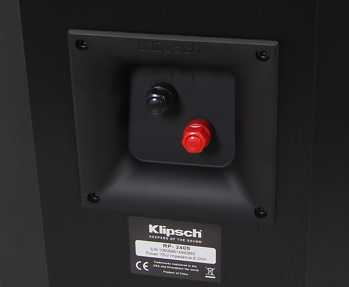 Klipsch Reference Premium RP-240S Anschluesse