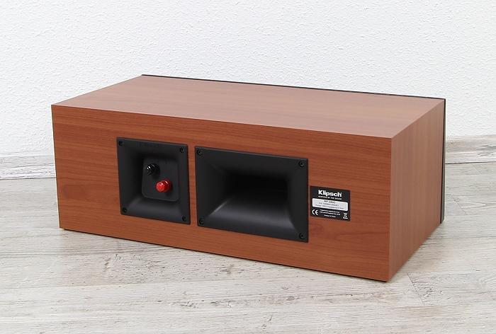 Klipsch Reference Premium RP-250C Rueckseite Seitlich1