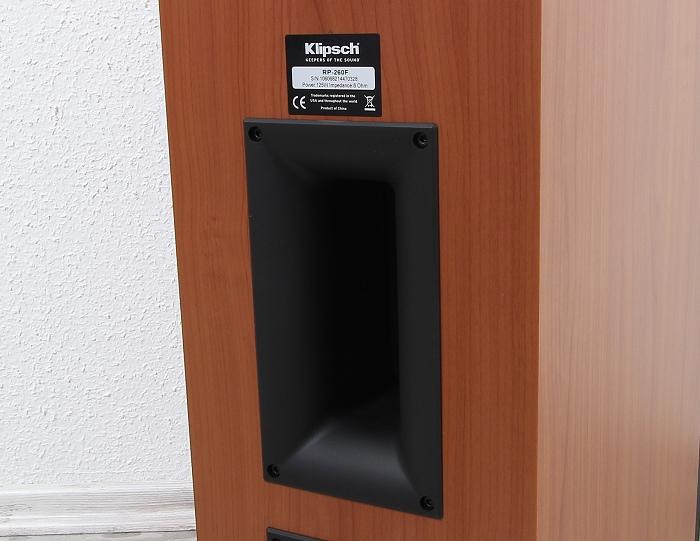 Klipsch Reference Premium RP-260F Bassreflexrohr