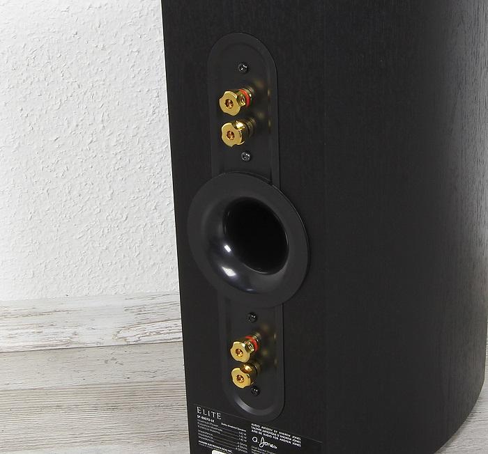 Pioneer Elite SP-EBS73-LR Bassreflexrohr Anschluesse