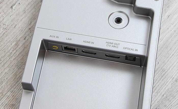 Samsung HW-J7501 Soundbar Anschluesse Unterseite