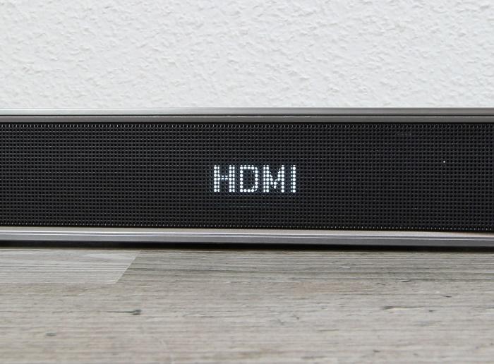 Samsung HW-J7501 Soundbar Display