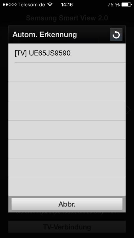 Samsung UE65JS9590 App 1