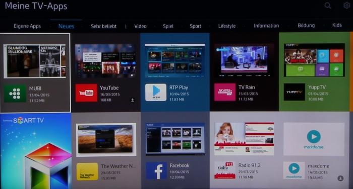 Samsung UE65JS9590 Screenshot 33