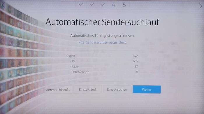 Samsung UE65JS9590 Screenshot 8