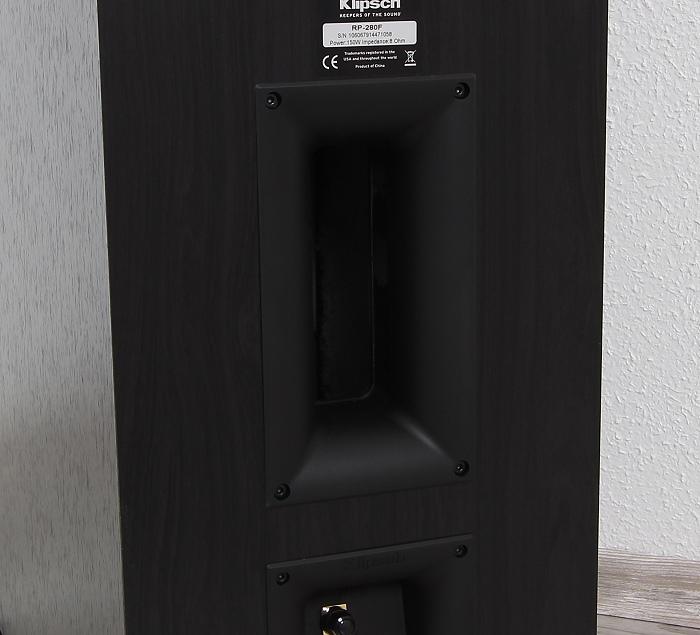 Klipsch RP-280F Bassreflexrohr
