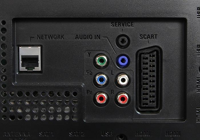 Philips 65PUS9809 Anschluesse Rueckseite2