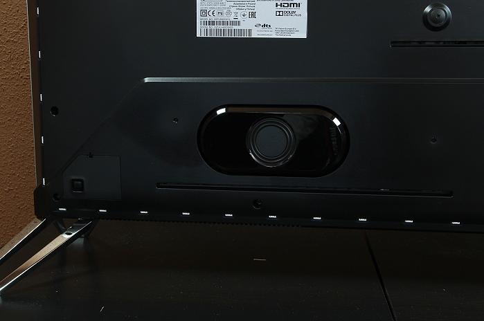 Philips 65PUS9809 Speaker Rueckseite