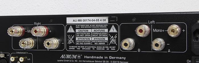Aurum M8 Anschluesse Rueckseite1