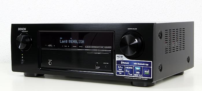 Denon AVR-X520BT Front Seitlich2