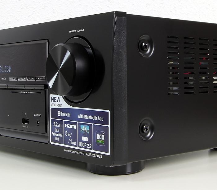 Denon AVR-X520BT Verarbeitung