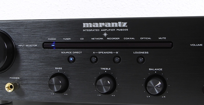 Marantz PM6005 Bedienelemente Front1