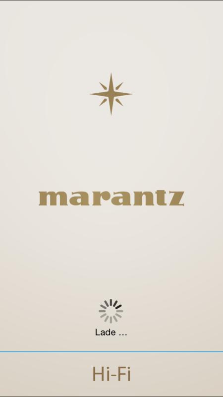 Marantz_App_Startbildschirm