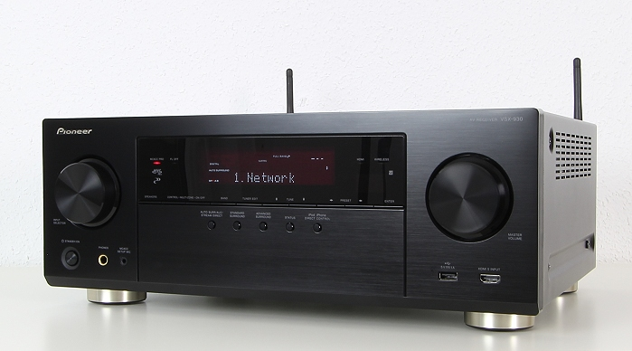 TEST: Pioneer 7.2 AV-Receiver VSX-930 – Multimedia-Power und Dolby ...